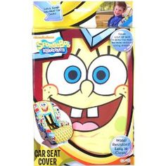 SpongeBob SquarePants Car Seat Cover, (car seat covers, accessories, infant car seat covers) need this for peyton!!