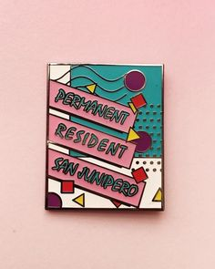 San Junipero Permanent Resident pin from me (@pinlord)  It's Heaven on Earth!  Buy it through my link in bio! If you have one you've officially transitioned...