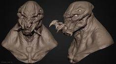 Image result for monster zbrush sculpt