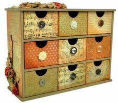 KaiserCraft - Storage Drawers - Vintage Timeless collection