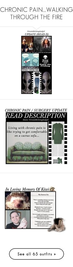 """CHRONIC PAIN....WALKING THROUGH THE FIRE"" by irresistible-livingdeadgirl ❤ liked on Polyvore featuring StreetStyle, outfit, depression, pain, chronicpain, Vegetarian Shoes, WithChic, 3M, NAMI and etsy"