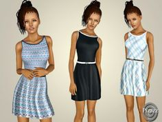 Summer Sundress by Pizazz - Sims 3 Downloads CC Caboodle