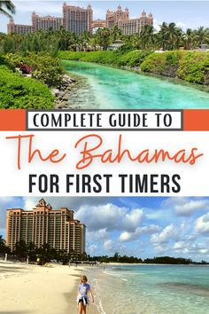 White sand beaches and turquoise waters of Nassau and Paradise Island calling you? This is the Bahamas family vacation guide you need! Specific for the needs of first timers to the Bahamas, this ultimate guide includes travel tips on which island to visit, resorts, transportation & activities. Updated details on current travel considerations along with things to do with kids on a family trip and safe travel tips. (photo credit: top-Diana Rowe; bottom-Heidi Gollub) #Bahamas #TravelwithKids #TMOM