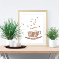 Really neat Tan Watercolor Tea Cup Digital Poster -  Wall Art Poster - Printable Poster - Digital Download - 300 DPI - 8 x 10 inches - PDF & JPEG 5.00 USD from BrandiLeaDesigns poster download printable poster instant download digital poster printable wall art digital print typography poster watercolor poster digital print poster black and white wall gallery inspirational poster motivational poster http://ift.tt/1WZXgAi