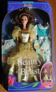 Beauty The Beast Belle Doll 1991   eBay
