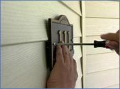 JMT Home Products - No Hole Vinyl Hook -- Hooks for siding