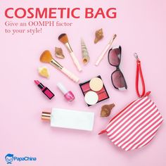 Give an OOMPH factor to your style! #cosmeticbags #bags #toiletrybags #makeupbag #wholesale #PROMO #Marketing #advertisement #promotion #Giveaway #Trending #gift #branding Wholesale Bags, Cosmetic Bag, Promotional Bags, Blush, Branding, Cosmetics, Giveaway, Gifts, Marketing