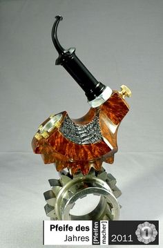 Gear-Punk pipe. 2011 Pipe of the Year.