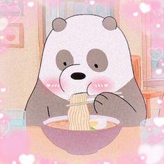We Bare Bears Wallpapers, Panda Wallpapers, Cute Cartoon Wallpapers, Cute Panda Wallpaper, Bear Wallpaper, Cartoon Profile Pictures, Cartoon Pics, Cartoon Ideas, Panda Icon