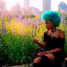 Love this .You look beautiful @raychillster via @igrepost_app, afro futuristic black woman. #Hair2mesmerize #naturalhair #healthyhair #naturalhairjourney #naturalhairstyles #blackhairstyles #transitioning