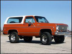 The 1976 Cheverlet Blazer