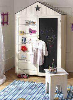 Kids Wardrobe Closet - Ideas on Foter Diy Kids Room, Kids Room Design, Kids Bedroom, Kids Wardrobe, Wardrobe Closet, Wardrobe Design, Armoire Wardrobe, Painted Wardrobe, Small Wardrobe