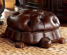 Love this! Turtle Ottoman