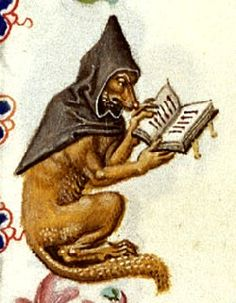 illustrations médiévales | Renard sur une enluminure ( Utrecht , Maître de…