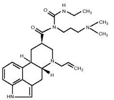 DOSTINEX® (cabergoline) Structural Formula Illustration