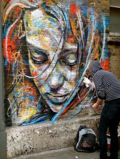 Even though graffiti is illegal, its still a beautiful form of art that anyone can accomplish.