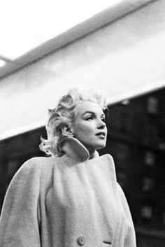 Marilyn Monroe photographed by Ed Feingersh, New York, 1955 One of my favorites of her first posted by   ourmarilynmonroe