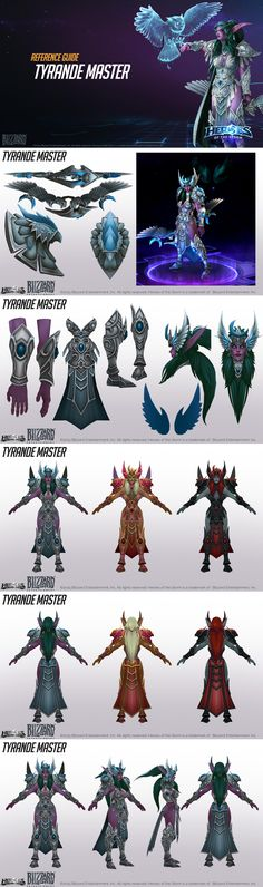 Tyrande Master Cosplay Reference by Mr-Singer.deviantart.com on @DeviantArt
