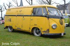 T1 VW Panel bus barndoor vintage