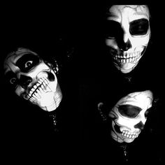 skullface facepaint