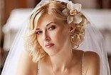 wedding hairstyles for short to medium hair - Bing
