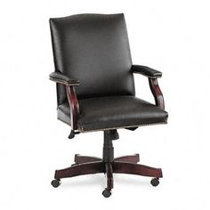 Hon Office Chair - Pin it :-) Follow us :-)) AzOfficechairs.com is your Office chair Gallery ;) CLICK IMAGE TWICE for Pricing and Info :) SEE A LARGER SELECTION of  hon office chair at http://azofficechairs.com/?s=hon+chair - office, office chair, home office chair -HON® Jackson 6570 Series Executive Leather High Back Swivel/Tilt Chair CHAIR,MID-BACK,BK 3265BL (Pack of 2) « AZofficechairs.com