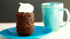 14 Delicious Dishes You Can Cook in Under One Minute via @mydomaine: Ryan Scott's Brownie in a Mug