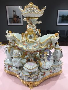 Table Centers, Coffee Love, Fine Porcelain, Rococo, Dresden, Table Centerpieces, Ceramic Art, Hobbies, Ceramics