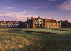 Royal Lytham and St. Anne's. Home of the 2012 Open Championship