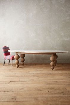 Lacquered Elm Dining Table - anthropologie.com