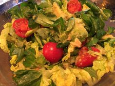 Avocado , tomato , salad!