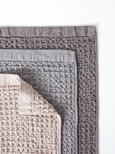Simple blankets in neutral colors
