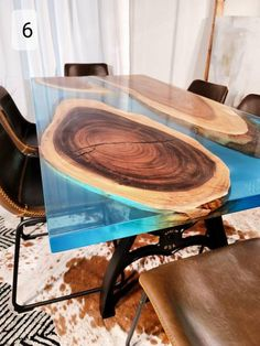 Diy Resin River Table, Epoxy Wood Table, Woodworking With Resin, Metal Table Legs, Diy Resin Crafts, Live Edge Table, High Quality Furniture, Diy Table, Custom Furniture