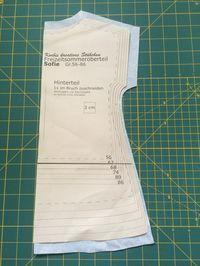 'Sofie', das kostenlose Schnittmuster für die Gr. 56-140,drucken ist ein einfacherdr Tunika Schnitt mit Gummizug um den Hals.