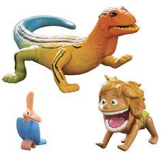 The Good Dinsoaur Small Figure, Spot and Lizard
