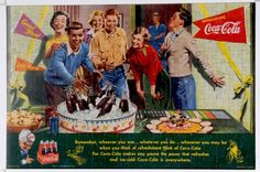 1952 COCA-COLA  CANADIAN PUZZLE