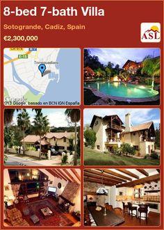 8-bed 7-bath Villa in Sotogrande, Cadiz, Spain ►€2,300,000 #PropertyForSaleInSpain