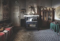 'Home comforts' | Flickr - Photo Sharing!  The room has been cleared but yet it still has so many personal touches