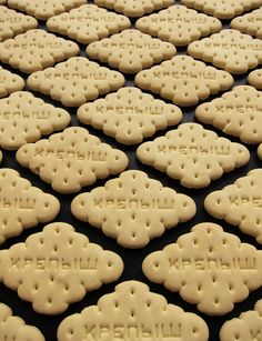 Russian cloud-shaped biscuits // via Mrs. Easton