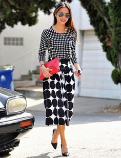 Polka Dot dresses are the cutest outfits around one of fashion's hottest trends.