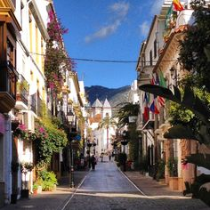 Marbella (Spain) - take me here Andalucia Spain, Malaga Spain, Places Around The World, Travel Around The World, Around The Worlds, Marbella Old Town, Puerto Banus, South Of Spain, Spain Travel