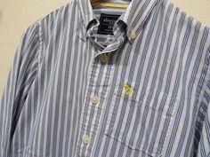 アバクロンビーのストライプシャツ