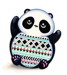 panda aztec <3