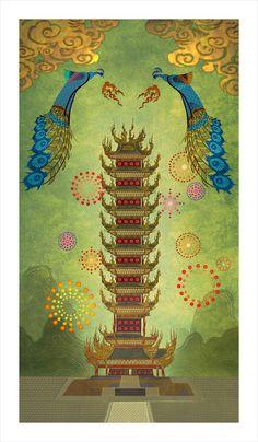 "Concept Art from Dreamwork's ""Kung Fu Panda 2"""