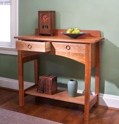 Download the Stickley No. 802 Sideboard article from the Summer 2009 issue of Woodworking Magazine (now part of Popular Woodworking Magazine).