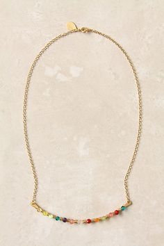 Perched Harmonies Necklace #anthropologie