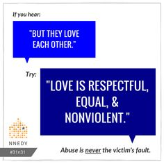 10/2: What's love without respect? #31n31 #DVAM2016  Learn more about healthy relationships: http://www.loveisrespect.org/healthy-relationships/