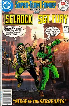 Super-Team Family: The Lost Issues!: Sgt. Rock and Sgt. Fury