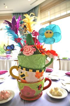Alice in Wonderland Teacup Birthday Party/ by EventfullyYours, $100.00