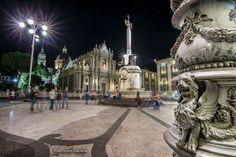 Catania, Sicily (Elephant Square)